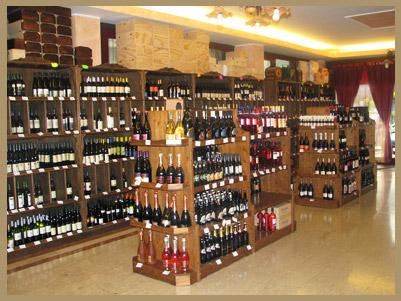 Telaro produzione vini for Idee per arredare enoteca